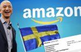 Amazon İsveç pazarına giriyor