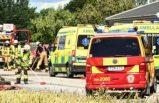 At arabasının karıştığı kazada at ve bir kişi yaralandı