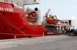 Günlerdir denizde bekletilen Ocean Viking gemisindeki göçmenler tahliye edildi