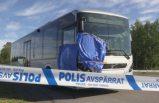 İsveç'teki otobüs cinayetinde tehdit mesajı ortaya çıktı