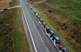 Baltık Yolu gösterilerinin yıl dönümünde 50 bin kişi Belarus için insan zinciri