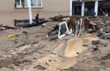 Giresun'daki sel felaketinin acı görüntüleri