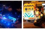 Göteborg'da patlama: Yakın evler sarsıldı