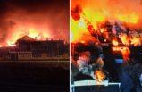 İsveç'in en büyük ekmek fırını yangında yok oldu