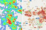 Vakaların arttığı Ankara'da ilçe ilçe koronavirüs haritası