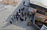 İsveç'te çete üyesinin polisi tehdit ettiği görüntü basına sızdı