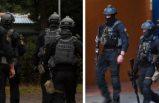 Polis iki gündür Upplands Väsby'de baskınlar düzenliyor