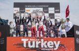 Türkiye Rallisi'nin galibi belli oldu