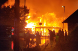 Uppsala'daki bir restoranda büyük yangın: Polis kundaklama dedi
