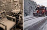 İsveç'te kar yağışı kaosa neden oldu