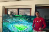 Ronaldo İsveç maçını televizyondan izledi
