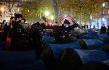 Fransız polisinden mülteci kampına sert müdahale