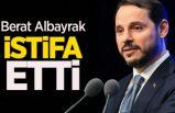 Hazine ve Maliya Bakanı Berat Albayrak'ın istifası doğrulandı