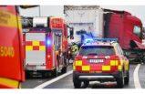 Kamyon kazası: 2 kişi hastaneye kaldırıldı