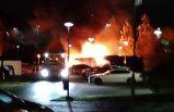 Märsta ve Sigtuna'da 13 araç ateşe verildi