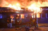 Sanayi bölgesinde büyük yangın