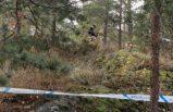 Stockholm'deki ormanlıkta bir kişi ölü bulundu