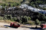 Yunanistan'daki sığınmacı kampında yangın çıktı