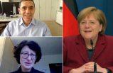 """Merkel, Şahin ve Türeci ile görüştü: """"İnanılmaz gurur duyuyoruz"""""""