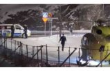 Gustavsberg'de bir kadın vuruldu