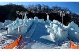 """İsveç modeli """"Buz şehri"""" inşa ediliyor"""