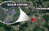 Älvsjö'deki otobüs kavgasında bir kişi bıçaklandı