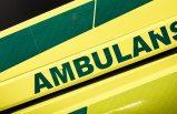 Stockholm'de ambulans kazası