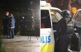 Stockholm'de bir kişi vuruldu