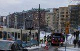 Göteborg'da bir kadına Tramvay çarptı