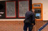 Hırsızlar ATM'yi havaya uçurdu