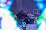 İsveç'te can alan kaza: Trenin çarptığı kamyondaki iki kişi öldü