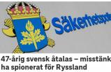 İsveç'te Rusya adına casusluk yapan kişi tutuklandı
