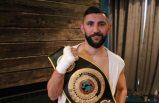 Türk boksör Arda Tamer Avcı, UBO Kıtalararası Şampiyonu oldu