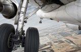 Uçağın iniş takımlarında kaçak yolcu bulundu