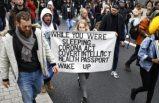 Covid-19 protestoları Avrupa geneline yayıldı: Binlerce kişi maskesiz sokağa çıktı