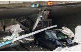 İsveç'te sık sık görülen korkunç geçit kazalarına bir yenisi eklendi