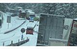 SMHI uyarmıştı! E20'de büyük trafik kazası
