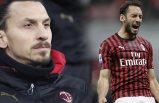 Milan'da sürpriz kriz! Hakan Çalhanoğlu, Zlatan Ibrahimovic birbirine girdi