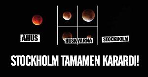 33 yıl sonra Stockholm tamamen karardı