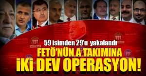 A Takımı listesindeki 59 isimden 29'u yakalandı