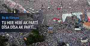 """AK Parti'den Kürtçe Seçim Şarkısı """"Carek Di"""""""