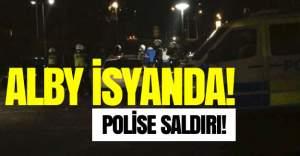 Alby'de isyancı gençler polise saldırdı