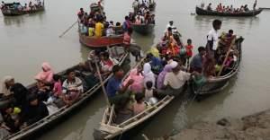 Arakanlı Müslümanları taşıyan teknede 10 çocuk hayatını kaybetti!