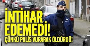Avrupa'da intihara kalkışan kişiyi polis vurarak öldürdü!