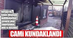 Avrupa'da yine Cami yaktılar!