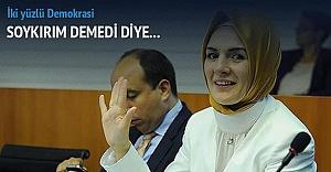Avrupa'nın ilk başörtülü vekili Soykırım demedi diye partiden atıldı!