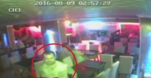 Bardaki cinayet kamerada