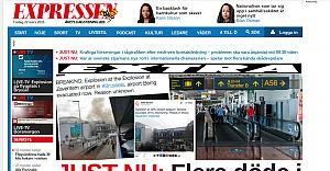 Belçika'da havalanında patlama: onlarca ölü var