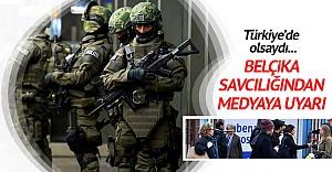 Belçika savcılığından medyaya uyarı
