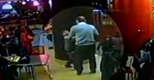 Burger King'de dayak yiyen o çocuğun kamera görüntüleri ortaya çıktı!